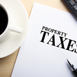 picture of a tax property paper